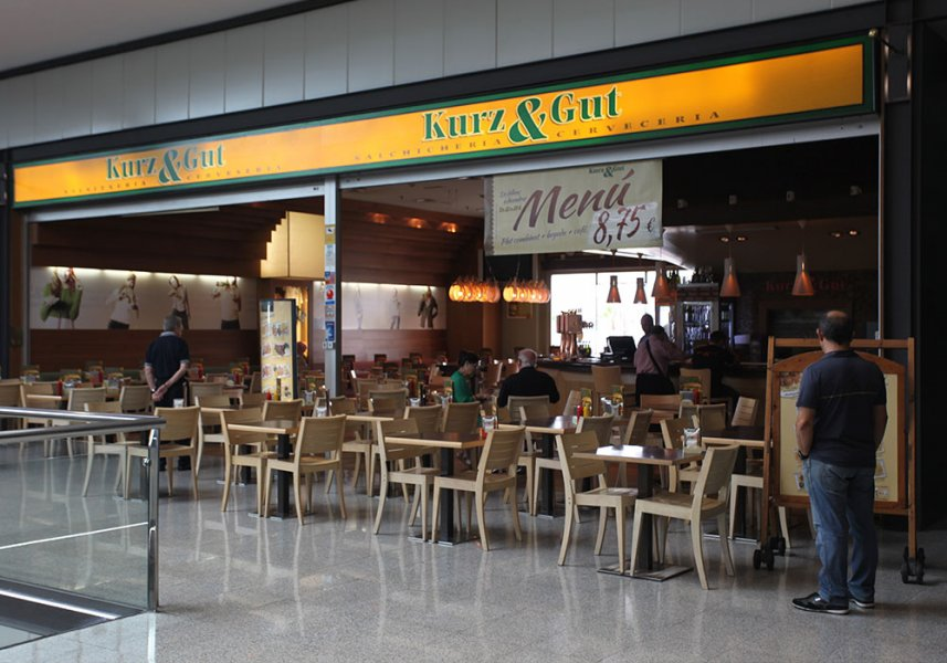 Restaurante Kurz and Gut en Mataró Parc